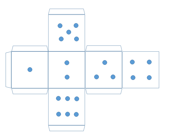 Кубик своими руками бумаги