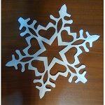 Как вырезать снежинки из тонкой бумаги или салфетки