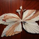 Ёлочные игрушки своими руками — бабочка