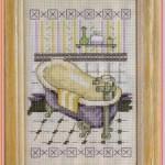 Вышивка для ванной: Гламур от кутюр