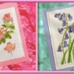 Схемы для вышивки крестом. Цветочный квартет