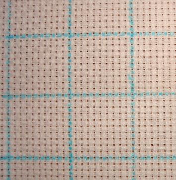 Как разметить схему на вышивке