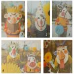 Детские маски из бумаги