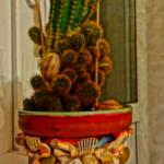 Как украсить цветочный горшок.