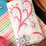 Схема вышивки крестом: чехол
