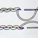 Как сделать двойной шов