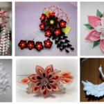 Рукоделие: чудесные цветы Канзаши