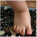 Делаем коврик для профилактики плоскостопия