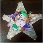Рождественская звезда своими руками  легко и просто