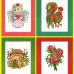 Вышитые открытки от фирмы GAMMA