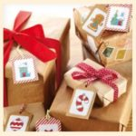 Схемы вышивки крестом новогодние мотивы маленькие для бирки