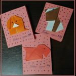 Открытки с оригами из бумаги собака за 5 минут